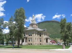 Silverton, Colorado - County Court House