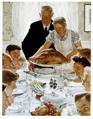 Rockwell Thanksgiving Conflicts