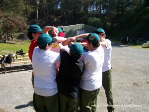 Final Staff Leadership training at Camp Herms