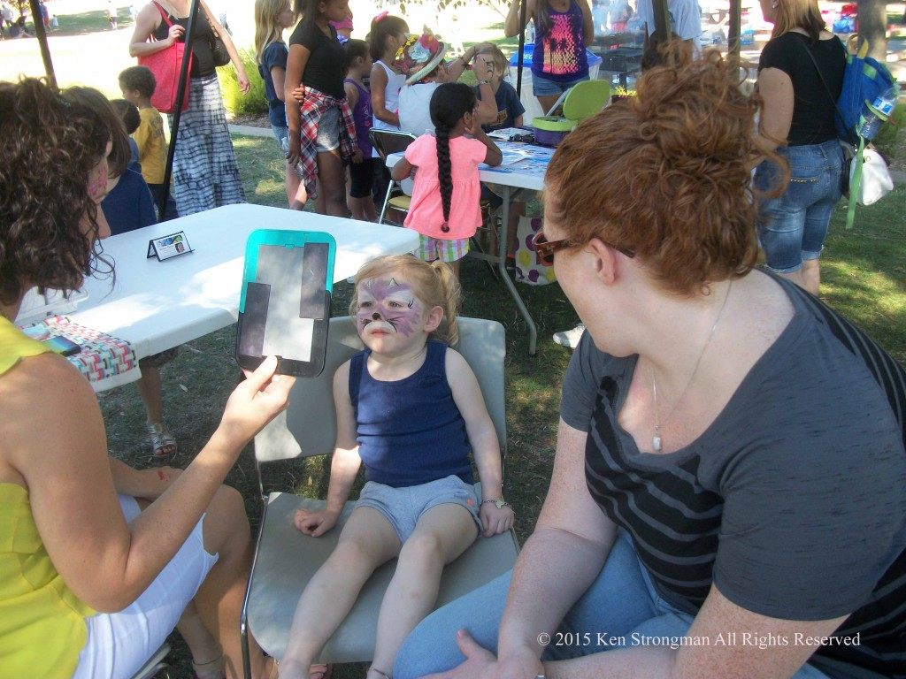 Face Painting @ Lindsay Wildlife Experience 60th Birthday Bash