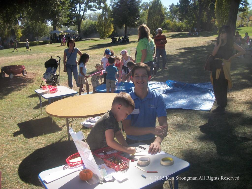 Happy Volunteer @ Lindsay Wildlife Experience 60th Birthday Bash